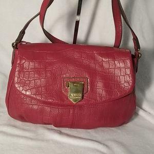 Aimee Kerstenberg pink leather crossbody